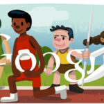 Celebrate The Olympics With Google's Doodle