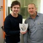 Jonathan Ive Blue Peter Badge