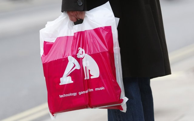 HMV saved by Record Labels?