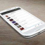 Google Now Themed Music Player for Android