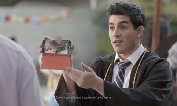 Samsung Galaxy S4 advert