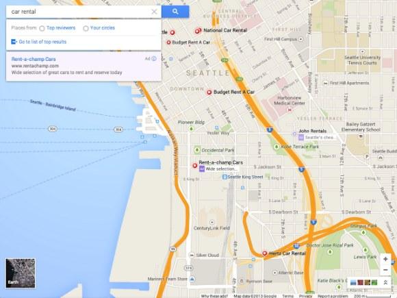 google map 2013 update